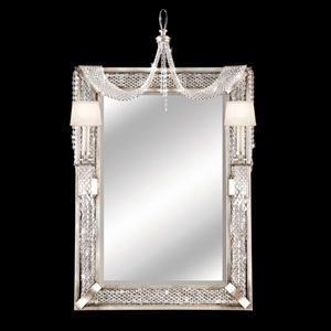 Cascades Two-Light Girandole in Warm Silver Leaf Finish