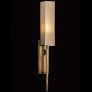 Perspectives One-Light Wall Sconce in Patinated Golden Bronze Finish