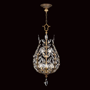 Crystal Laurel Gold Six-Light Lantern