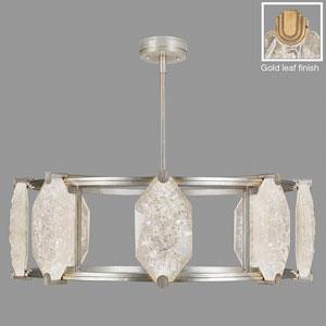 Allison Paladino Gold Leaf 24-Light LED 14.75-Inch Pendant
