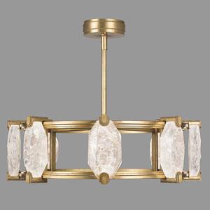 Allison Paladino Gold  Leaf 16-Light LED 9.5-Inch Pendant