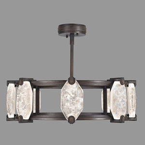 Allison Paladino Bronze 16-Light LED 9.5-Inch Pendant