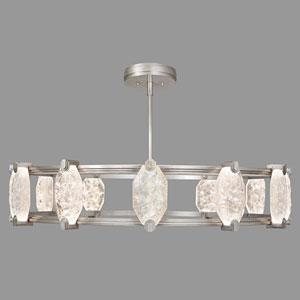 Allison Paladino Silver Leaf 24-Light LED 9.5-Inch Pendant