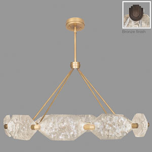 Allison Paladino Bronze 20-Light LED 25-Inch Pendant