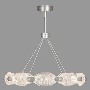 Allison Paladino Silver Leaf 20-Light LED 20.5-Inch Pendant