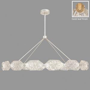 Allison Paladino Gold Leaf 32-Light LED 30-Inch Pendant