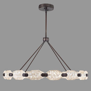 Allison Paladino Bronze 32-Light LED 24-Inch Pendant