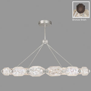 Allison Paladino Bronze 24-Light LED 24-Inch Pendant