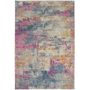 Passion Ivory Multicolor Rectangular: 12 Ft. x 18 Ft. Area Rug