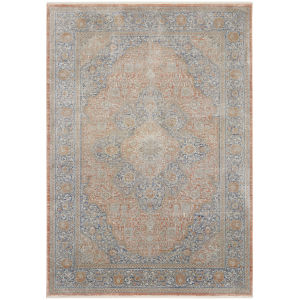 Starry Nights Blush Multicolor Rectangular: 5 Ft. 3 In. x 7 Ft. 3 In. Area Rug