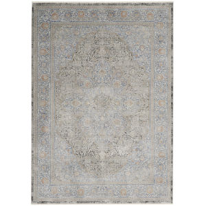 Starry Nights Blue Rectangular: 5 Ft. 3 In. x 7 Ft. 3 In. Area Rug