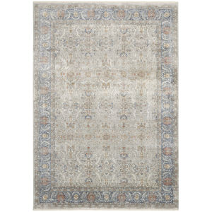 Starry Nights Gray Rectangular: 5 Ft. 3 In. x 7 Ft. 3 In. Area Rug
