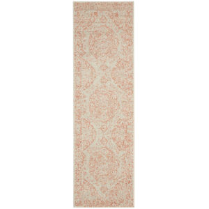 Tranquil Ivory Pink Runner: 2 Ft. 3 In. x 7 Ft. 3 In. Area Rug
