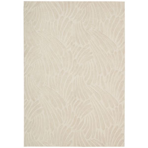 Contour Ivory Rectangular: 5 Ft. x 7 Ft. 6 In. Rug