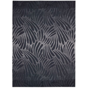 Contour Charcoal Rectangular: 5 Ft. x 7 Ft. 6 In. Rug