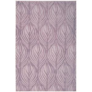 Contour Lavender Rectangular: 5 Ft. x 7 Ft. 6 In. Rug
