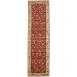 Somerset Red Runner: 2 Ft. 3 In. x 8 Ft. Rug
