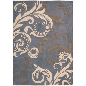 Contour Silver Rectangular: 5 Ft. x 7 Ft. 6 In. Rug