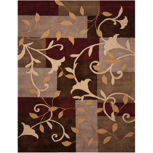 Contour Mocha Rectangular: 3 Ft. 6 In. x 5 Ft. 6 In. Rug