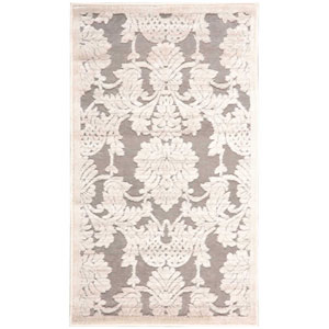 Graphic Illusions Nickel Rectangular: 2 Ft. 3 In. x 3 Ft. 9 In. Rug