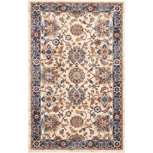 Reseda Cream Rectangular: 3 Ft. x 5 Ft. Rug