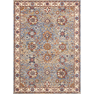Reseda Sky Rectangular: 3 Ft. x 5 Ft. Rug