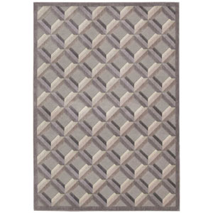 Graphic Illusions Stone Rectangular: 2 Ft. 3 In. x 3 Ft. 9 In. Rug