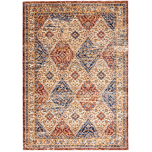 Reseda Multicolor Rectangular: 8 Ft. 3 Ft. x 11 Ft. 6 In. Rug