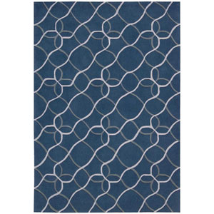 Contour Denim Rectangular: 3 Ft. 6 In. x 5 Ft. 6 In. Rug