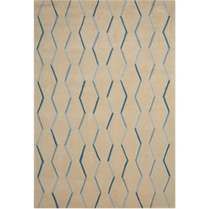 Contour Ivory Rectangular: 3 Ft. 6 In. x 5 Ft. 6 In. Rug