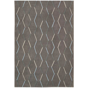 Contour Charcoal Rectangular: 3 Ft. 6 In. x 5 Ft. 6 In. Rug
