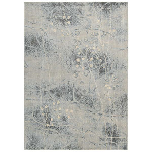 Somerset Silver and Blue Rectangular: 2 Ft. x 2 Ft. 9 In. Rug