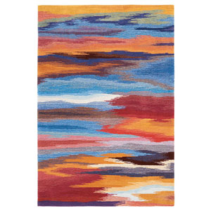 Contour Sunset Rectangular: 3 Ft. 6 In. x 5 Ft. 6 In. Rug
