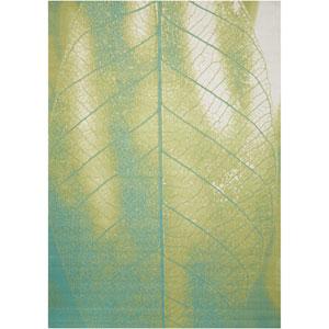 Coastal Green Indoor/Outdoor Rectangular: 5 Ft. 3 In. x 7 Ft. 5 In. Rug