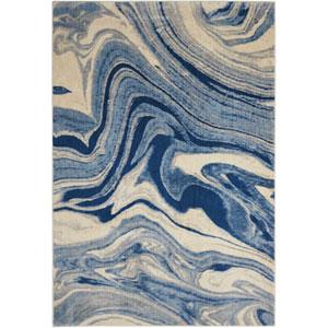 Somerset Light Blue Rectangular: 3 Ft. 6 In. x 5 Ft. 6 In. Rug