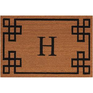 Elegant Entry H Natural 2 Ft. x 3 Ft. Doormat