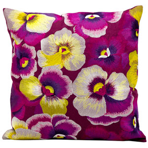 Multicolor 18-Inch Decorative Pillow