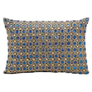 Sapphire 10 x 14-Inch Decorative Pillow