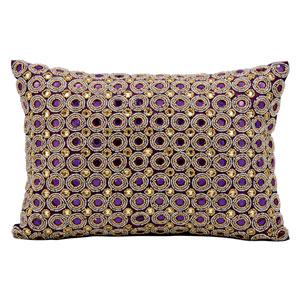 Purple 10 x 14-Inch Decorative Pillow