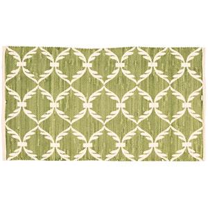 Cortege Light Green Rectangular: 2 Ft 3 In x 3 Ft 9 In Rug