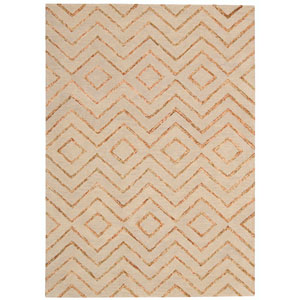 Intermix Sand Rectangular: 3 Ft 6 In x 5 Ft 6 In Rug