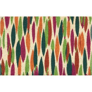 Greetings Bits n Pieces Clay Rectangular: 1 Ft. 6 In. x 2 Ft. 4 In. Doormat
