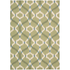 Sun and Shade Avocado Rectangular: 5 Ft 3 In x 7 Ft 5 In Rug