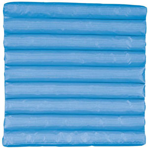 Turquoise Seat Cushion 17 In. Outdoor Seat Cushion