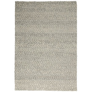 Riverstone Grey Ivory Rectangular: 5 Ft. 3 In. x 7 Ft. 5 In. Area Rug