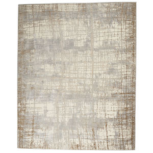 Rush Ivory Taupe Rectangular: 7 Ft. x 10 Ft. Area Rug