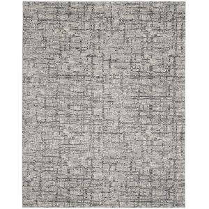 Rush Ivory Grey Rectangular: 7 Ft. x 10 Ft. Area Rug