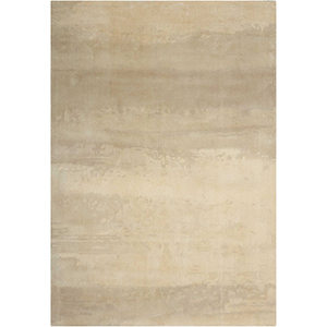 Luster Wash Dune Ivory Rectangular: 3 Ft. x 5 Ft. Rug