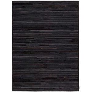 Prairie Black Rectangular: 4 Ft. x 6 Ft. Rug