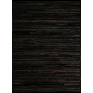 Prairie Black Rectangular: 5 Ft. 6 In. x 7 Ft. 5 In. Rug